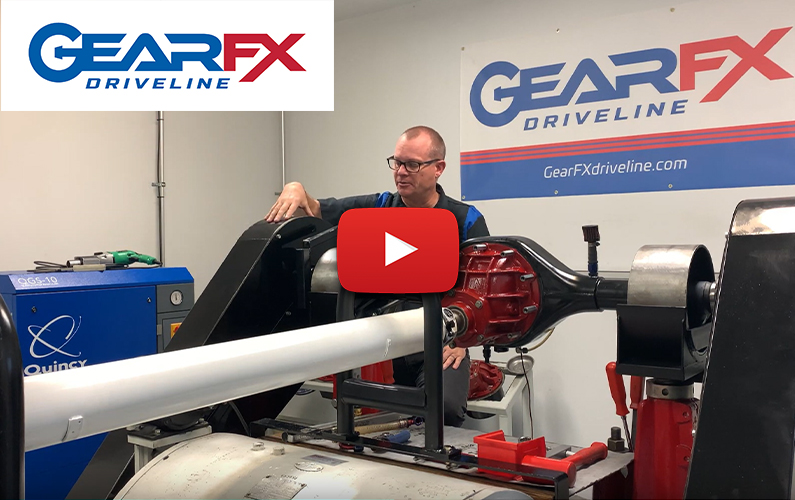 Rear Gear Dyno Services